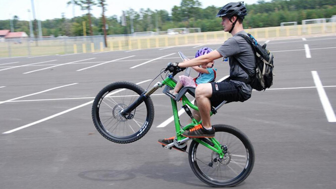 Kinderfahrradsitz Mountainbike Ohne Gepäckträger